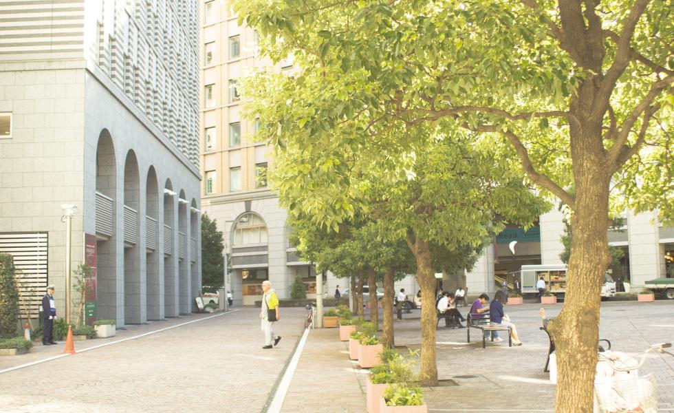 撮影スポット・汐留市シオサイト