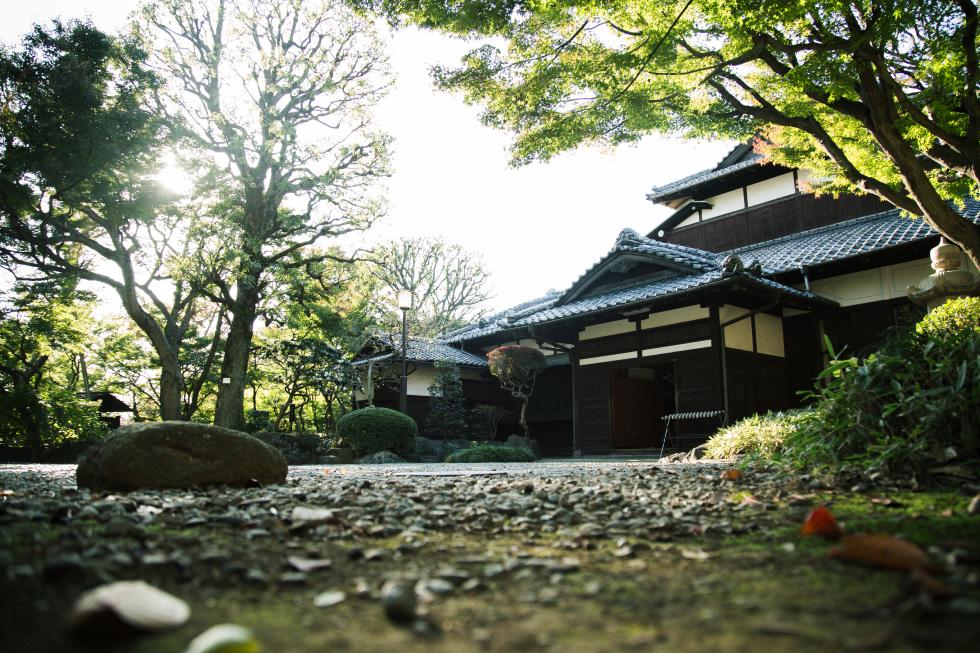 撮影スポット・旧朝倉邸
