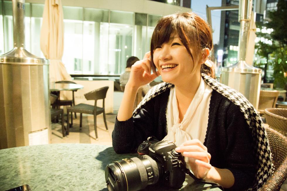 カメラ女子恵さんの写真