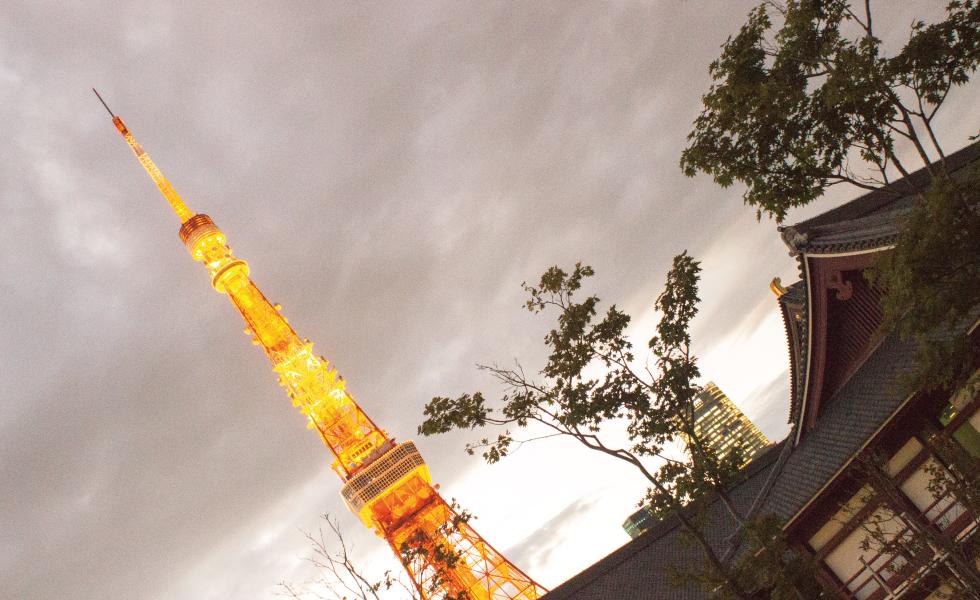 撮影スポット・東京タワー
