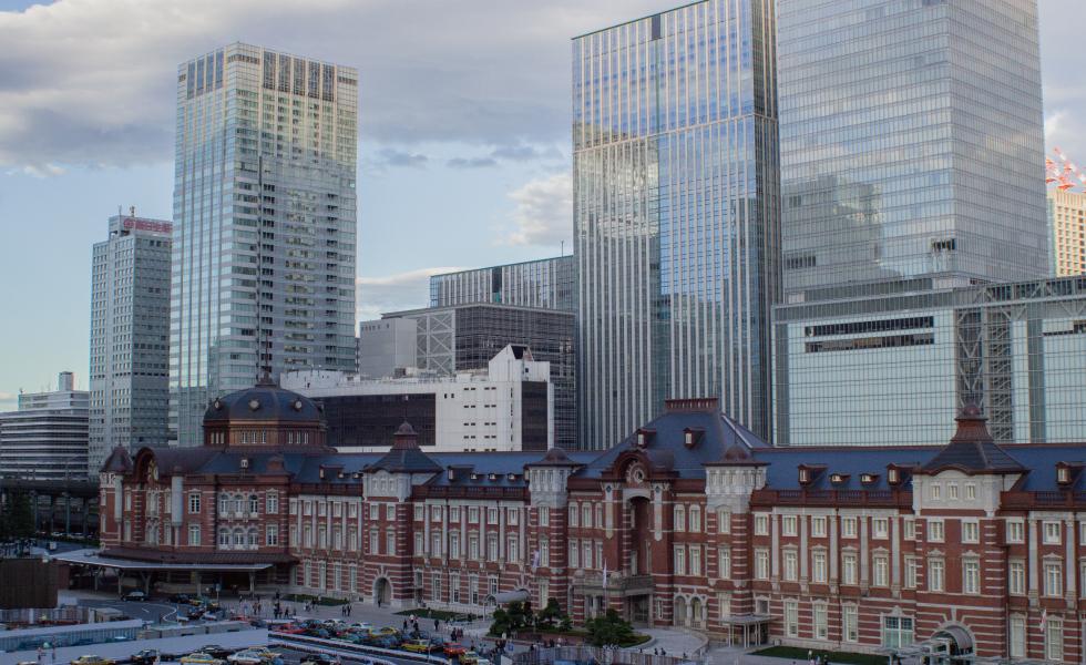 撮影スポット・東京駅