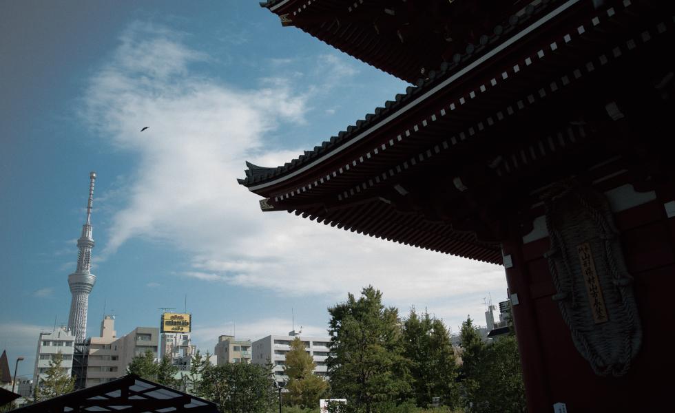 撮影スポット・浅草 浅草寺