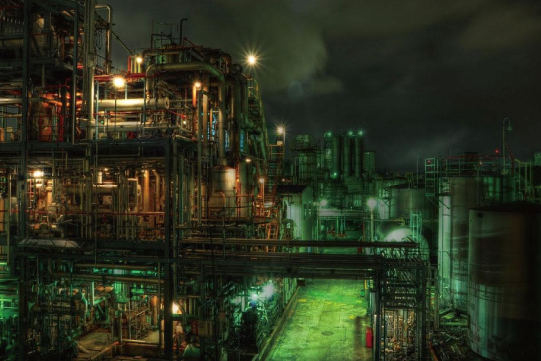 京浜工業地帯・千鳥町