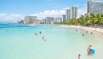 Hawaii、海、ビーチ、人、D5500