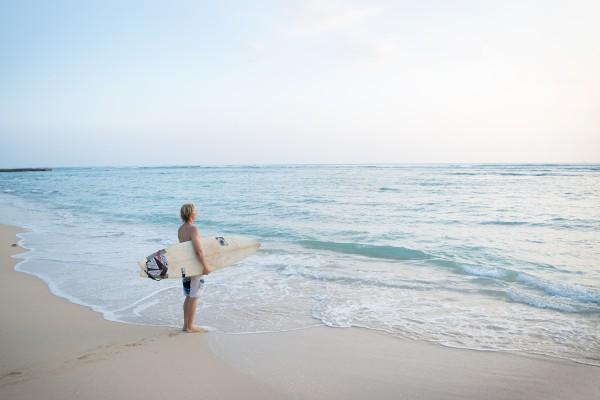 Hawaii、ワイキキ、サーファー