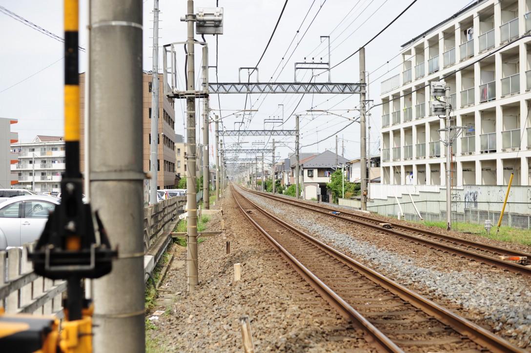 東武東上線・鶴ヶ島市の散歩