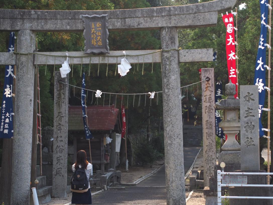 【香川女子旅】東かがわ市3日目 水主神社