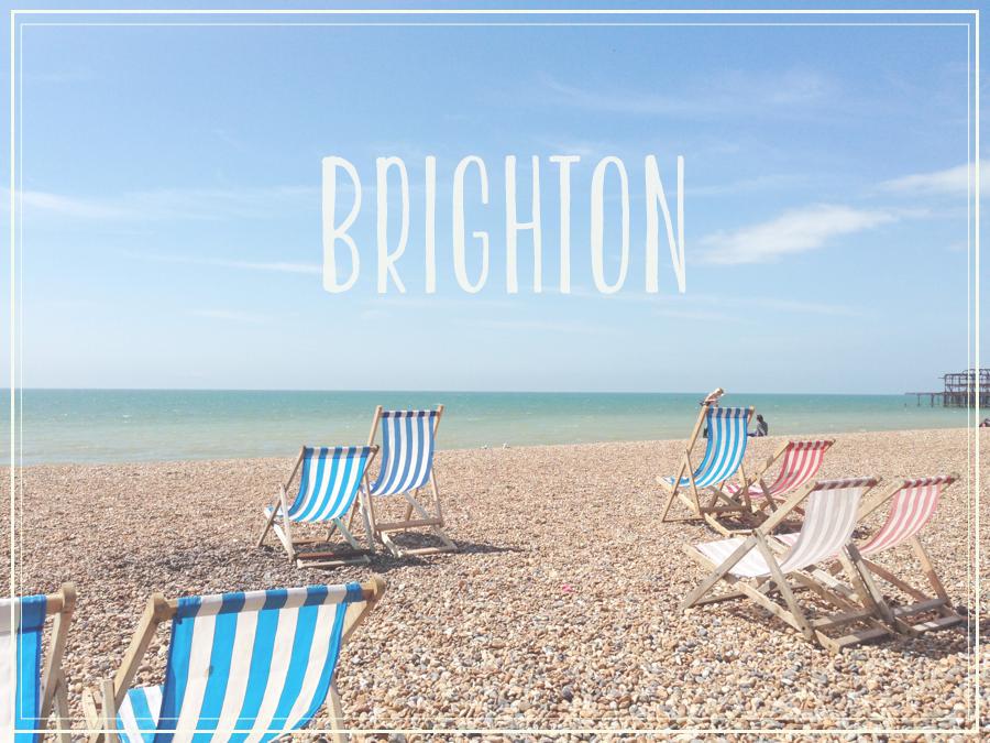 イギリスにある海辺の街、ブライトン