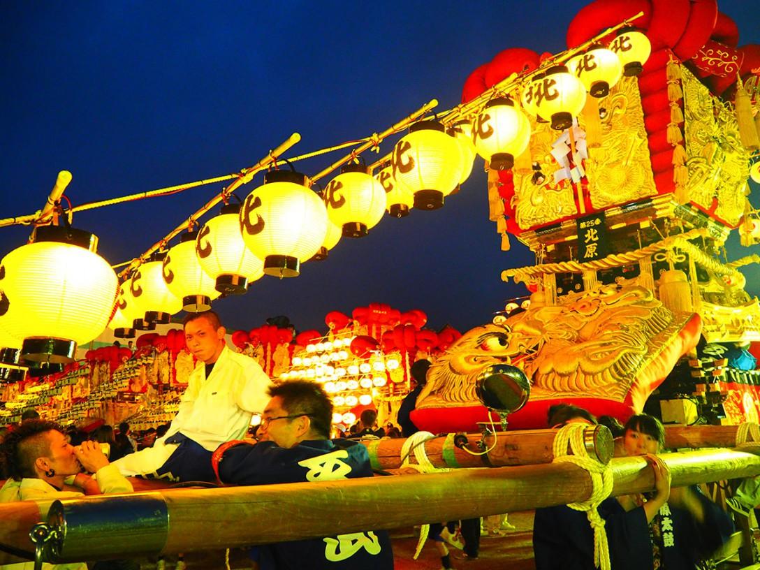 香川県観音寺市 さぬき豊浜ちょうさ祭