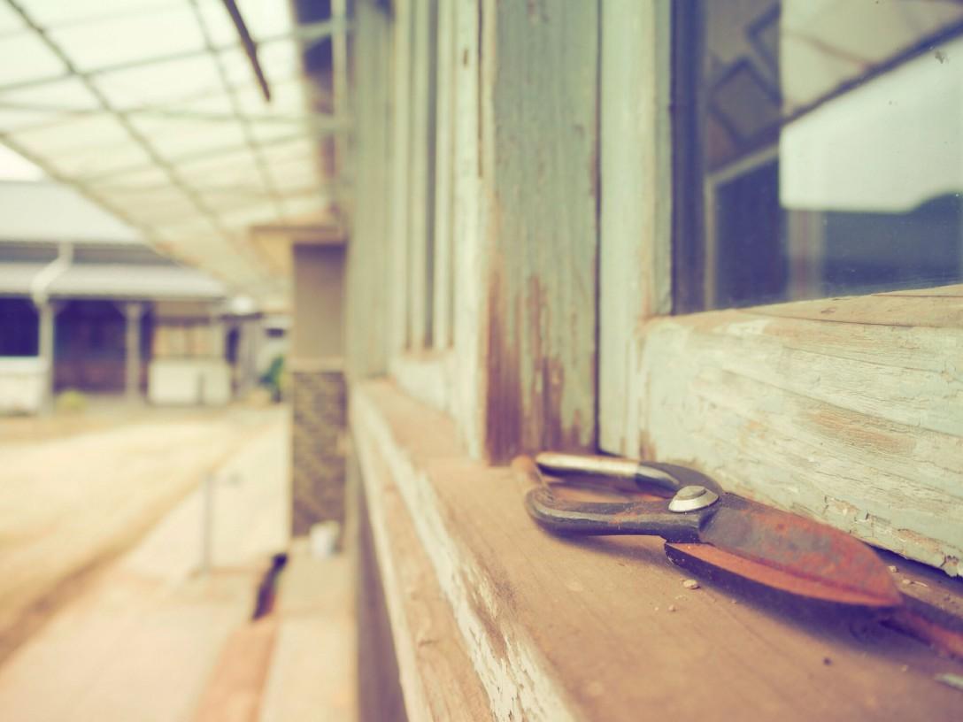 香川県三豊市 粟島 粟島芸術家村(旧粟島中学校)