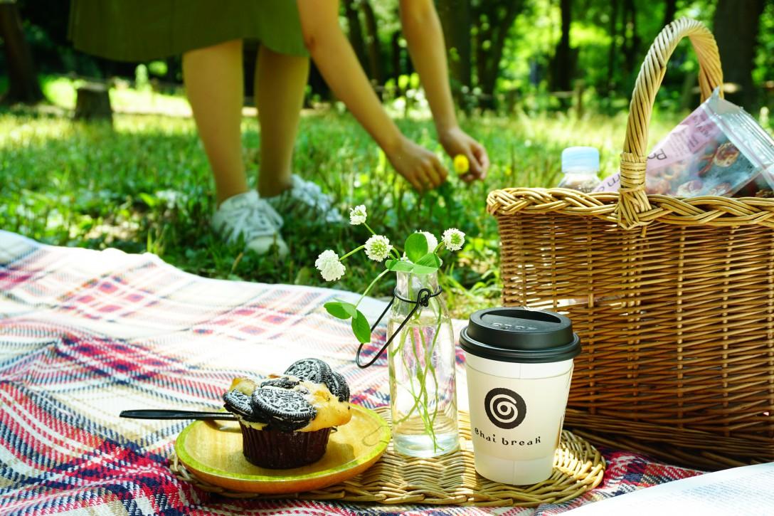 東京・井の頭公園でアサピクニック。