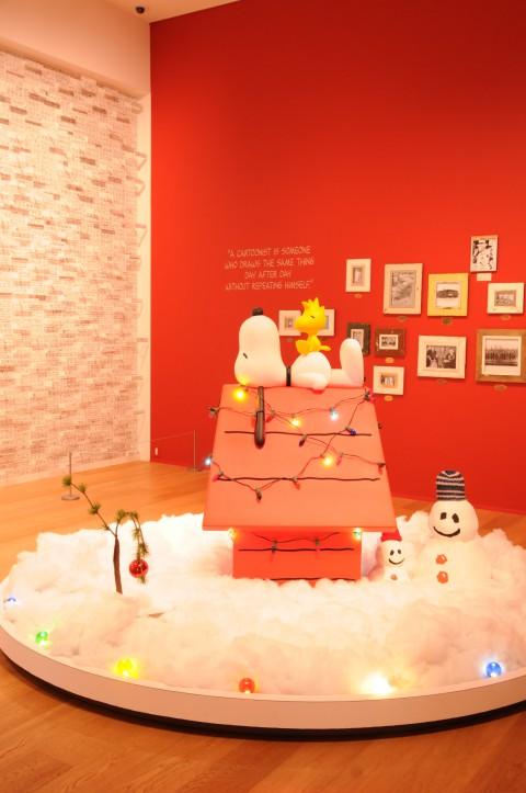 スヌーピーミュージアム クリスマスバージョン