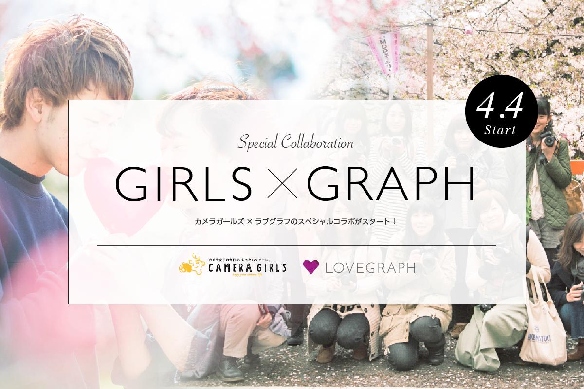 《カメラ女子必見!》カメラガールズとLovegraphのコラボ企画がスタート!