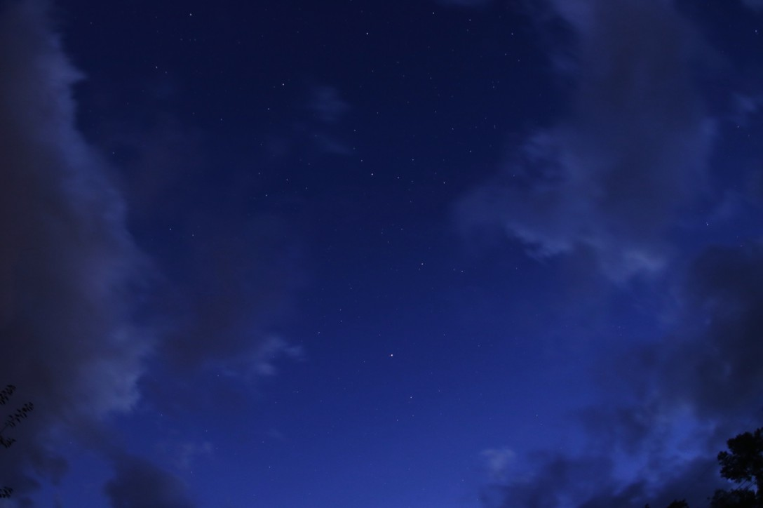 信州の星空