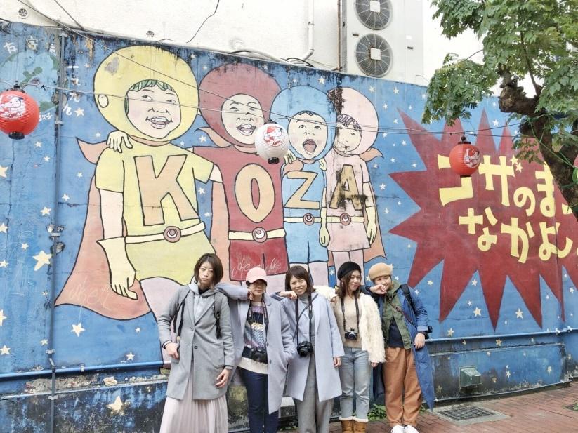 沖縄カメラガールズ始動! ノスタルジックな街「コザ」撮影ツアー<レポ>