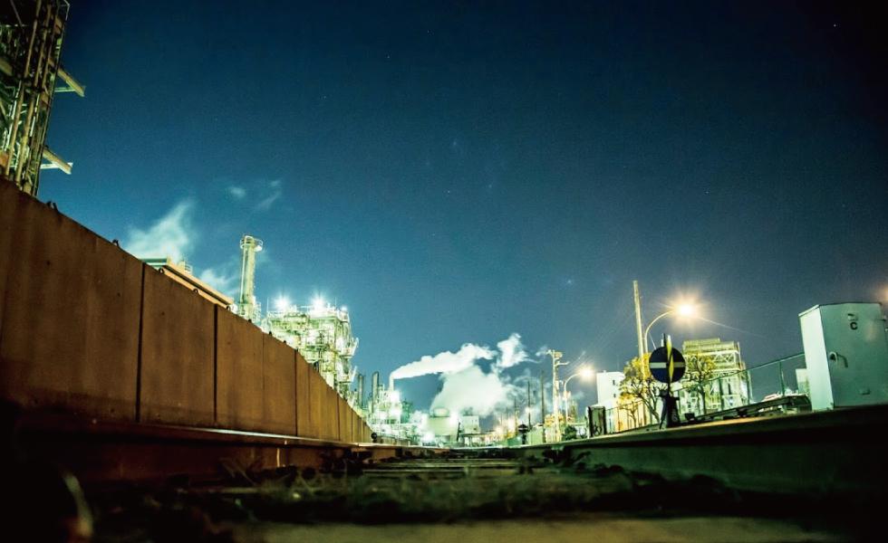 撮影スポット・京浜工業地帯