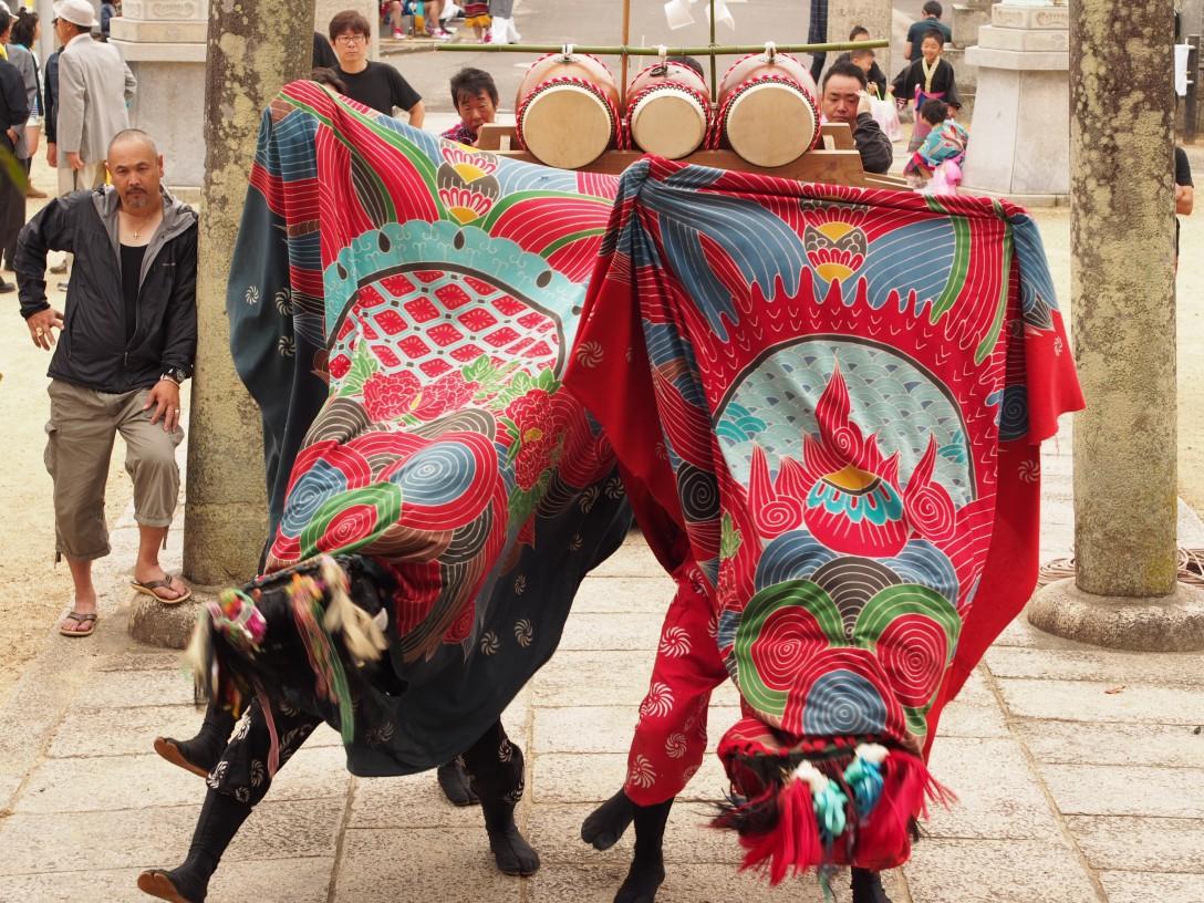 【香川女子旅】東かがわ市3日目 誉田八幡宮秋祭り