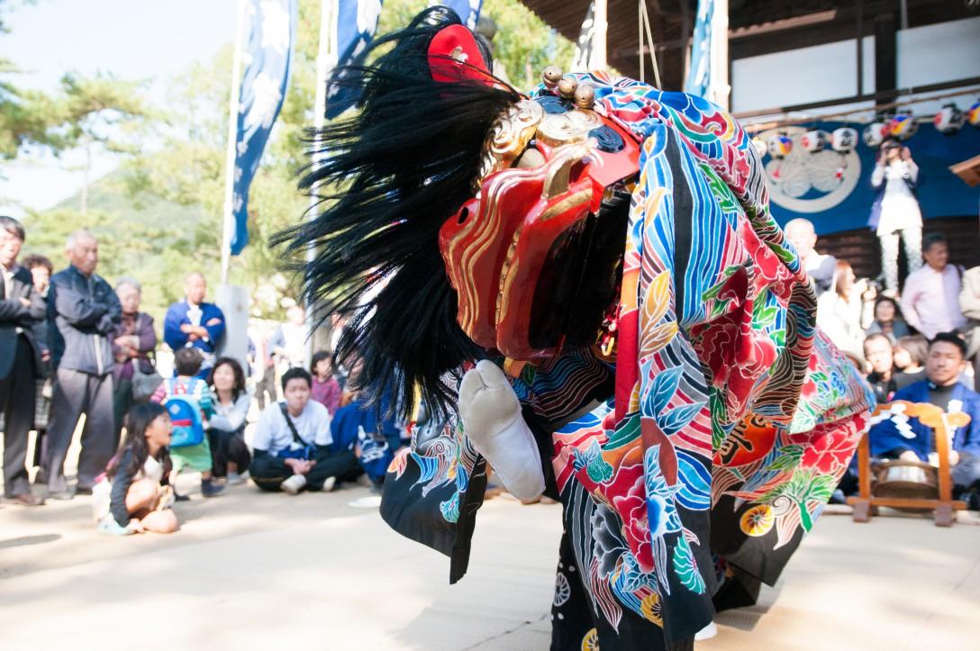 香川県坂出市 総社神社の秋祭り(18)