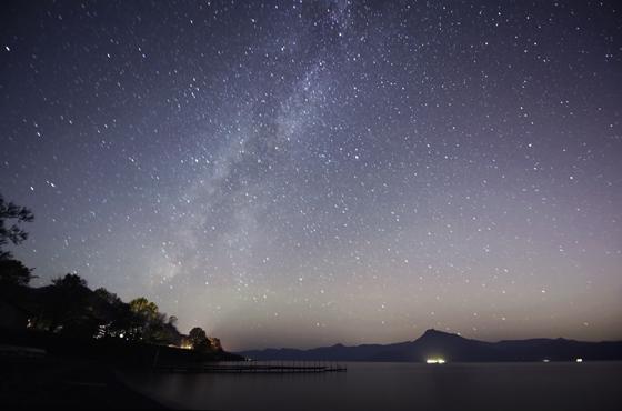 北海道 モラップキャンプ場の星空