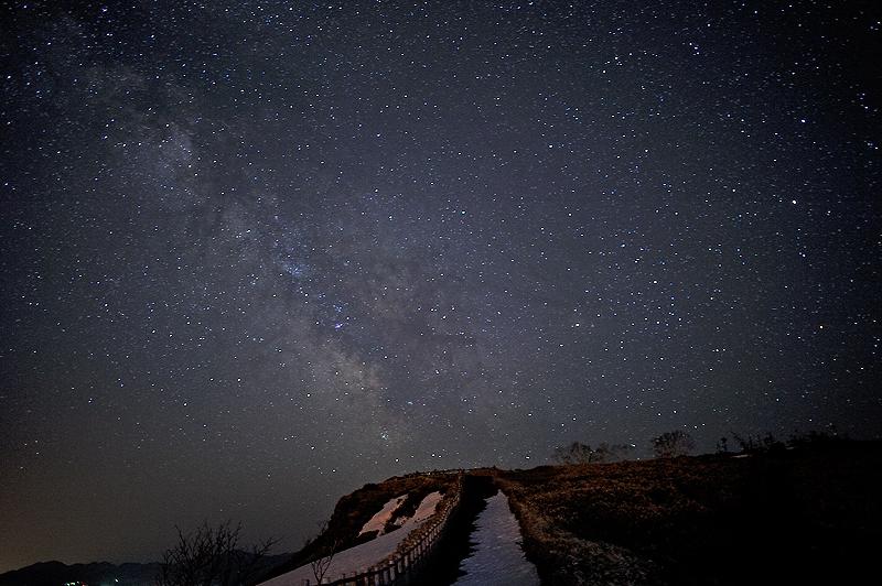 北海道 美幌峠の星空