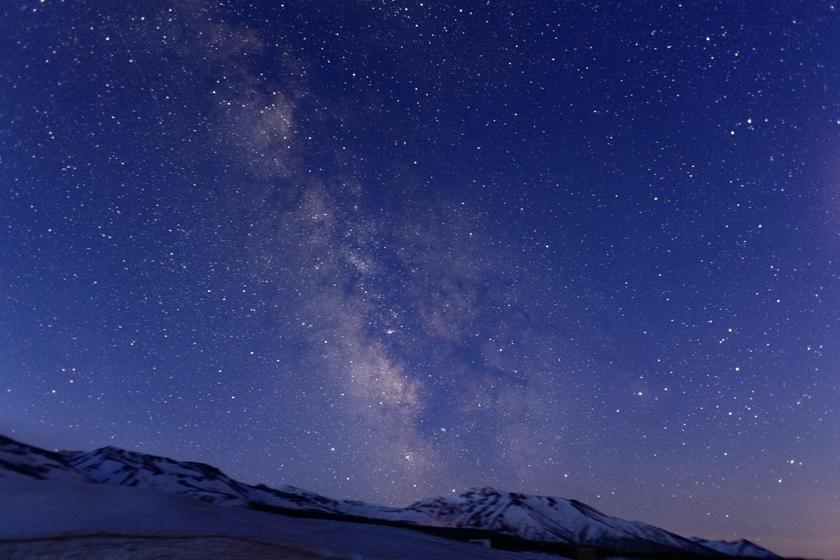 北海道 十勝岳望岳台の星空