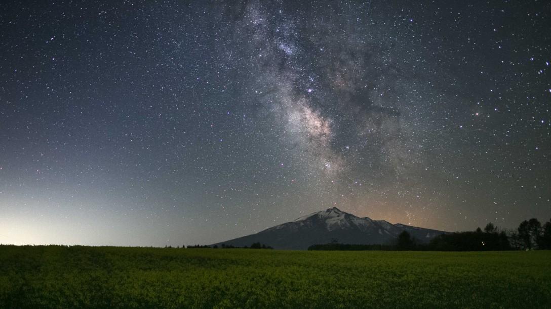 青森 鯵ヶ沢の星空