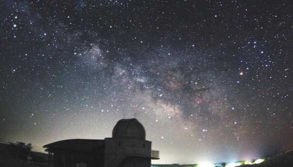 岩手県 ひろのまきば天文台の星空