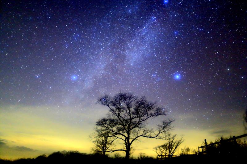 岩手県 荒川高原の星空