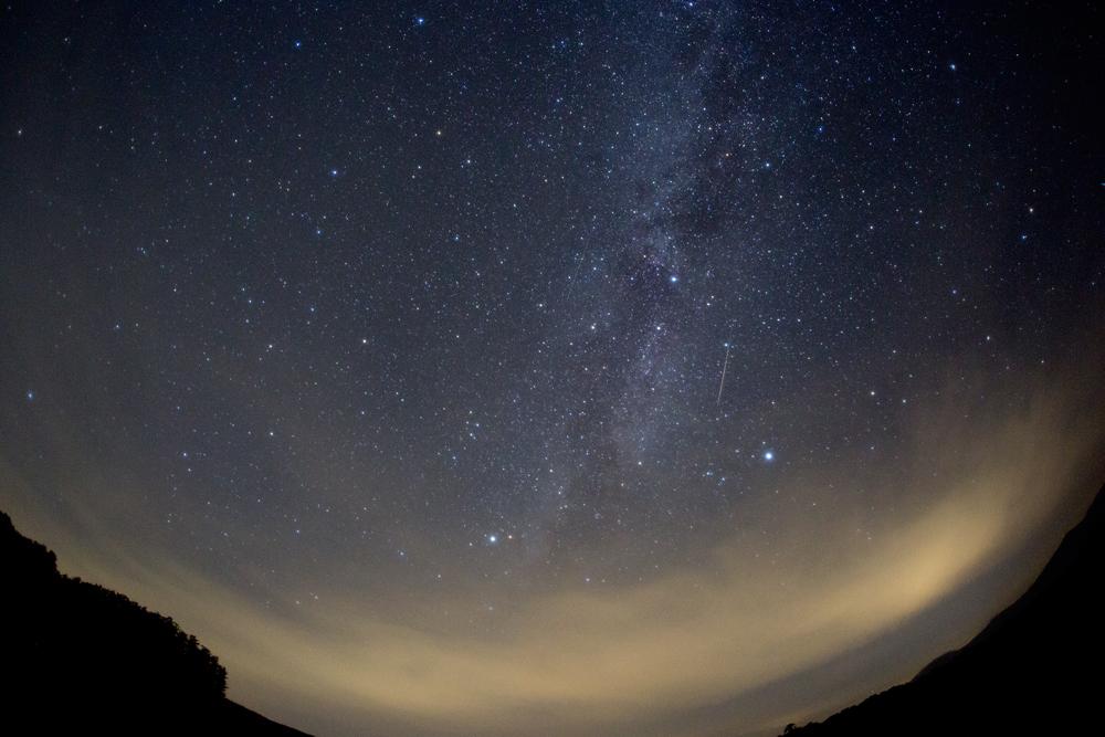 岩手県 遠野市の星空