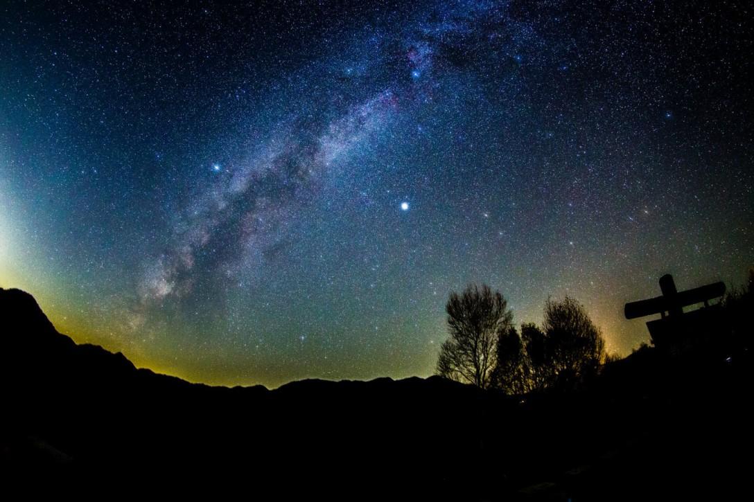 栃木県 戦場ヶ原の星空