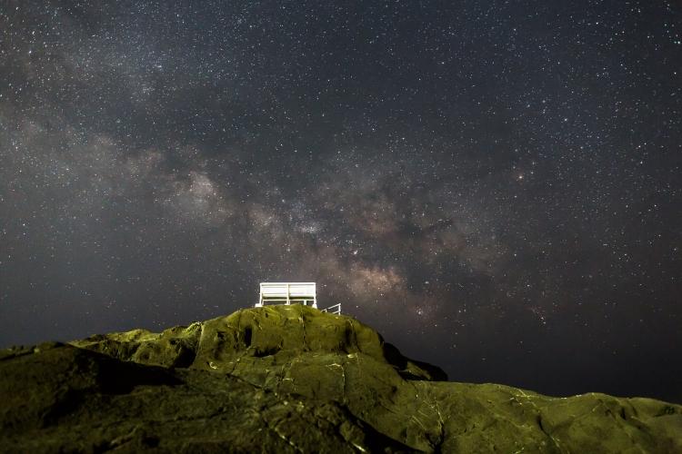 千葉県 野島崎灯台付近の星空