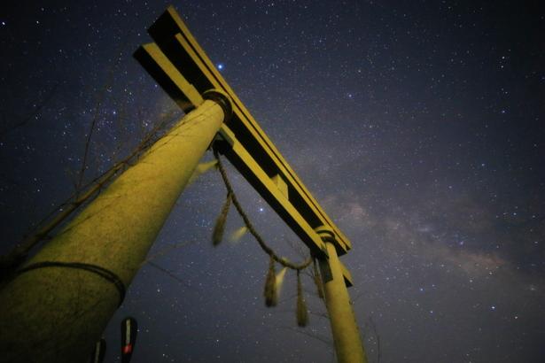 千葉県 東浪見海岸の星空