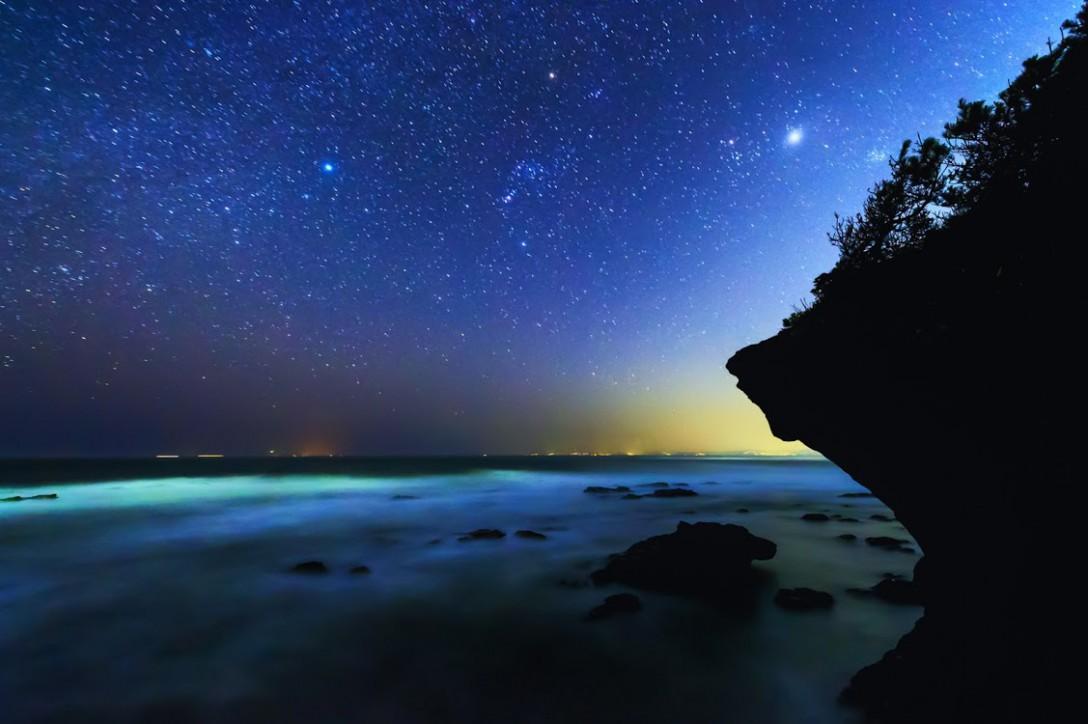 神奈川県 城ヶ島の星空