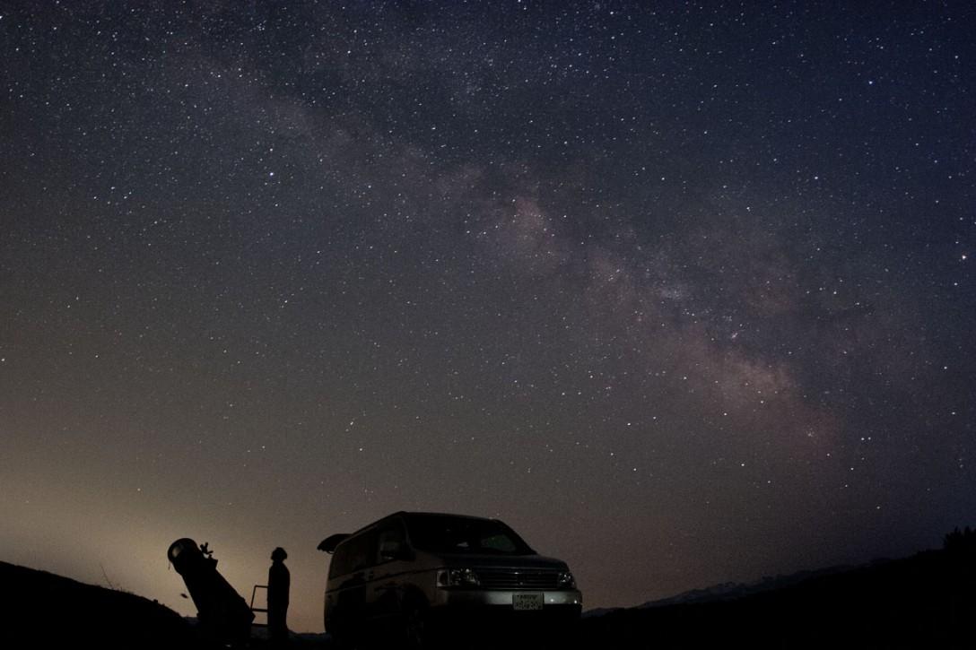 新潟県 津南町の星空