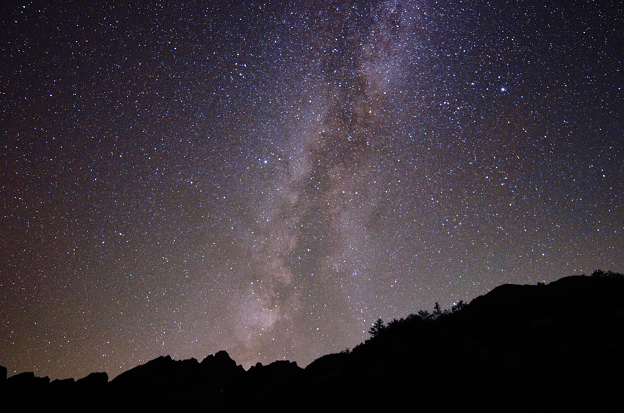 富山県 池ノ平の星空
