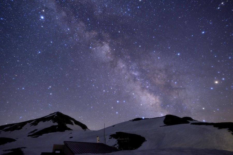 富山県 ホテル立山スターウォッチングの星空