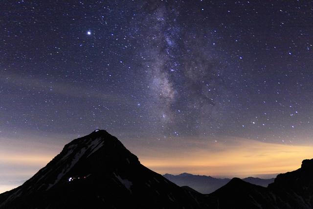 長野県 八ヶ岳横岳の星空