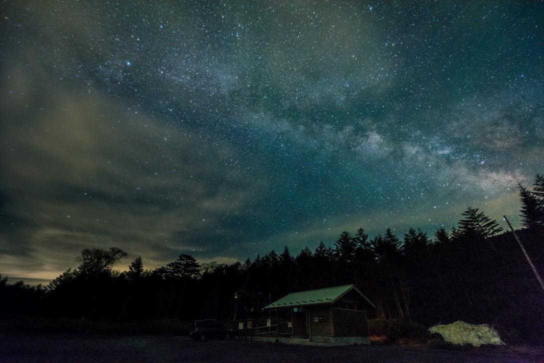 長野県 麦草峠の星空