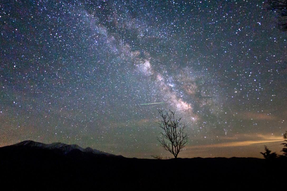岐阜県 大平展望台の星空