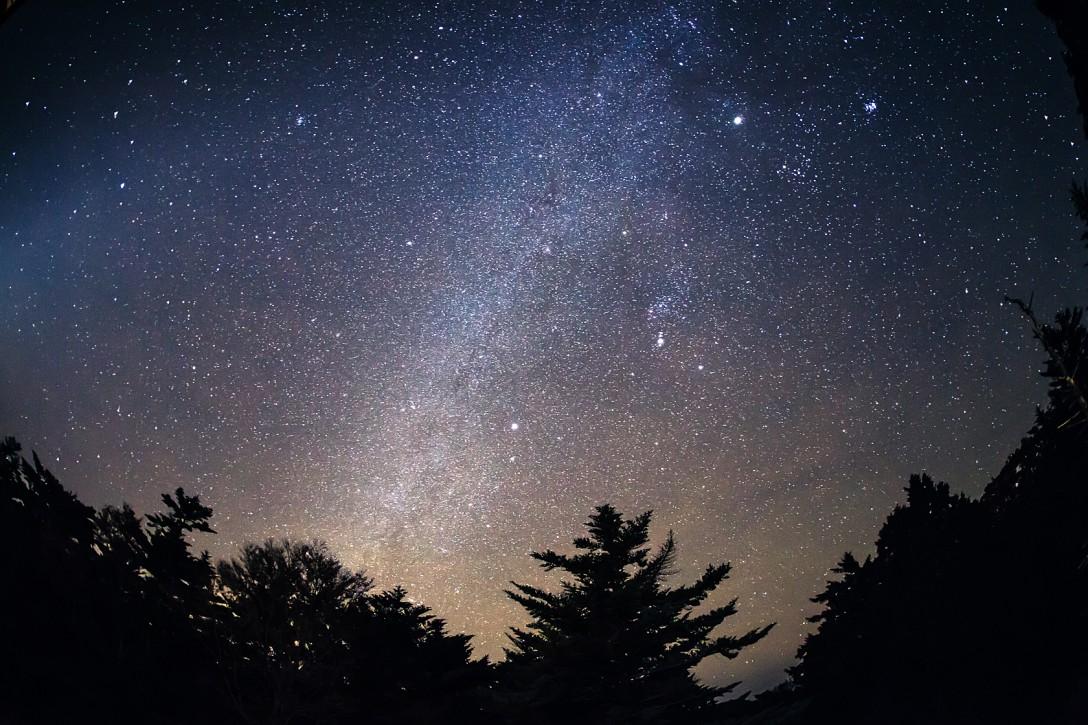 奈良県 大台ヶ原の星空