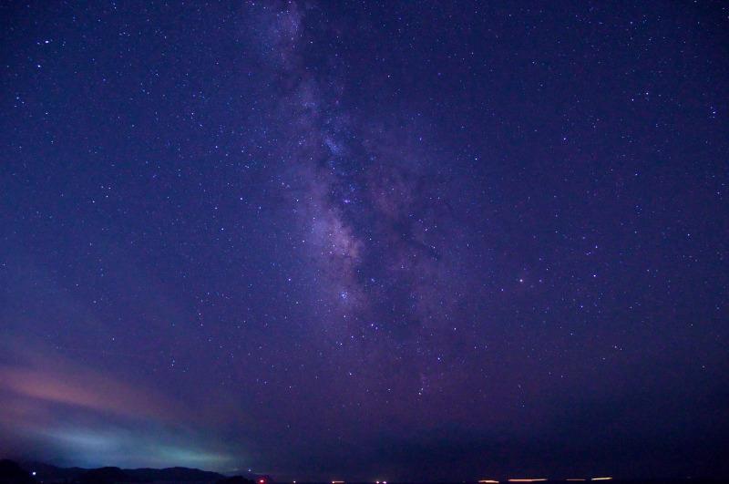 和歌山県 白崎海洋公園の星空