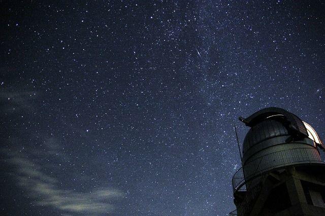岡山県 美星天文台の星空