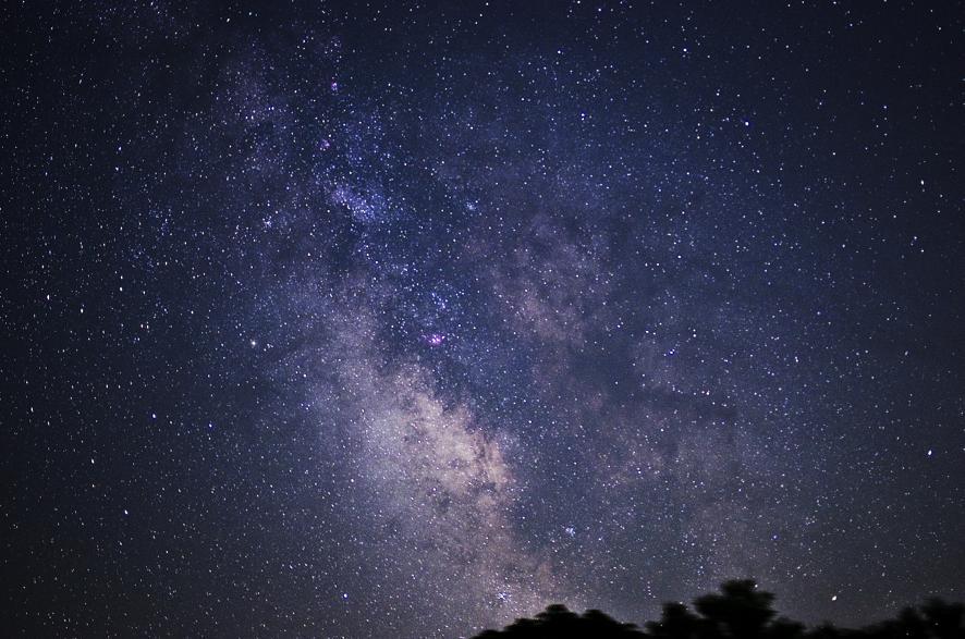 福岡県 八女市星野村の星空