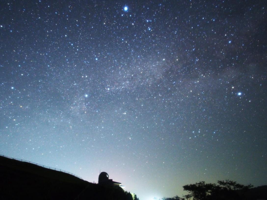 長崎県 福江島鬼岳天文台の星空