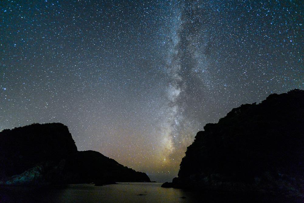 熊本県 妙見浦の星空