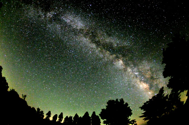 大分県 久住高原の星空