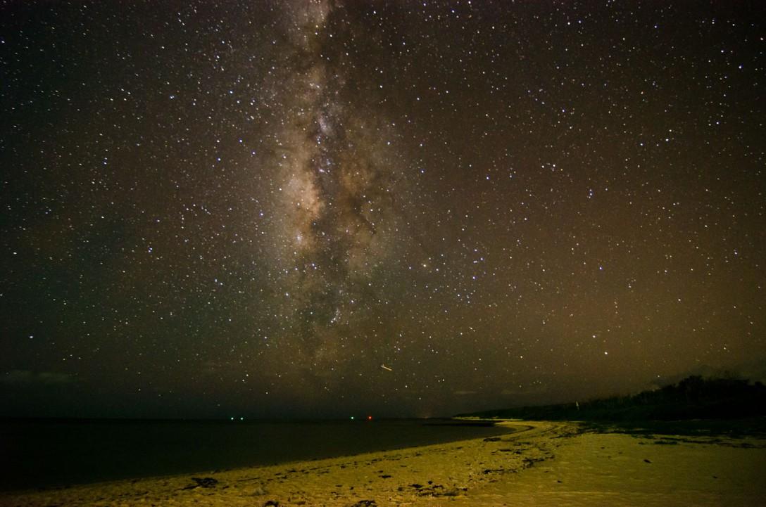 沖縄県 竹富島アイヤル浜の星空