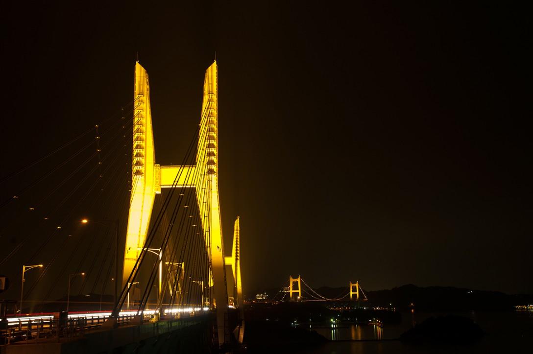 香川県坂出市 瀬戸大橋