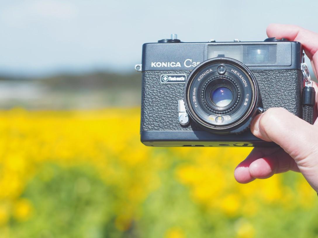 おじいちゃんのカメラ