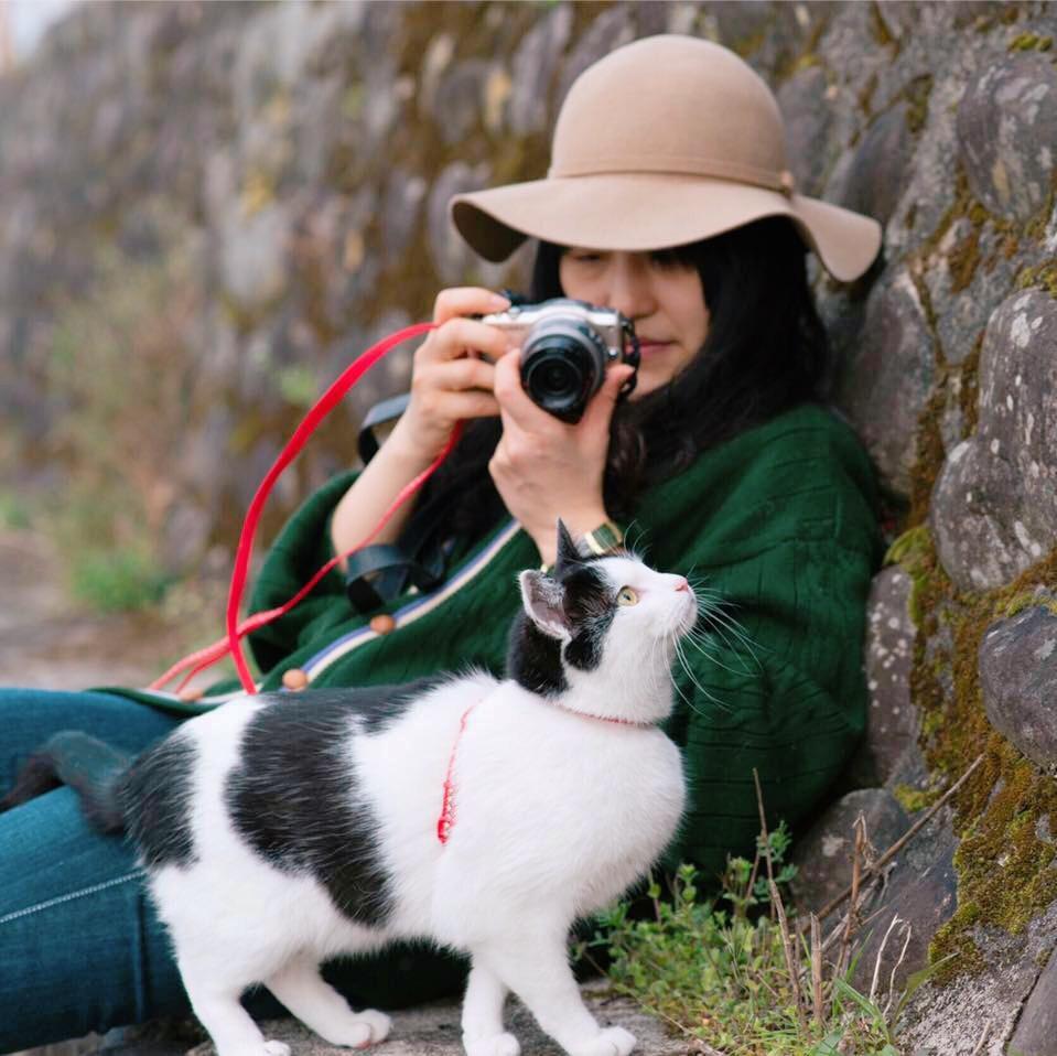 華子さんを連れて桜とか藤とか紫陽花とか、季節の撮影に行きます(・∀・)